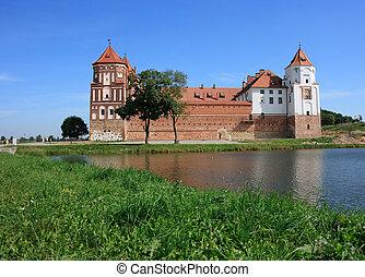 Castle of Mir in Belarus