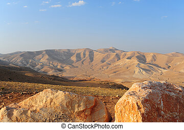 Judea Mountains - Landscape Of Judea Mountains Near Dead...