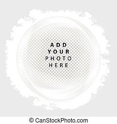 Vector Frame  circle.