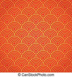 National chinese seamless pattern. Chinese new year 2015....