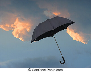Weather - Image for uncertain weather forecast or...