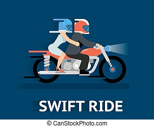 Cartooned Swift Ride Concept Design - Cartooned Swift Ride...
