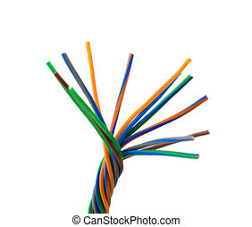 Colore wires - Colored wires
