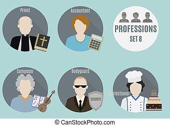Profession people. Set 8
