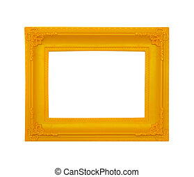 picture frame. Isolated over white background