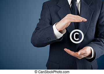 Copyright, patents and intellectual property protection law...