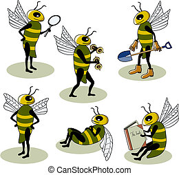 Selection of vector bees