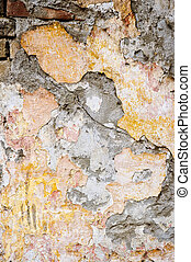 Grunge background wall - Old weathered painted wall for...