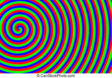 The colorful spiral