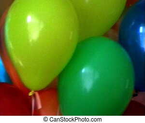 balloons background - background of multicoloured balloons