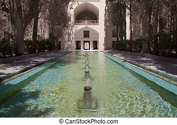 Fin garden - Kashan - Fin garden in Kashan - Iran. A lot of...
