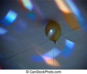 balloon in lights