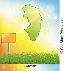 Map of Goerlitz