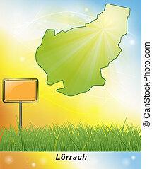 Map of Loerrach