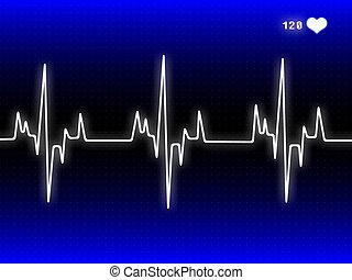 corazón, pulso