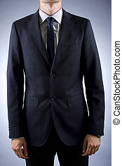 cut out image of a businessman in suit