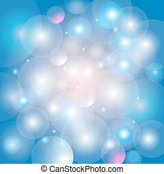 Abstract shimmering background boke - Festive beautiful blue...