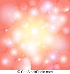 Abstract shimmering background boke - Festive red glowing...