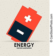 energy icon design, vector illustration eps10 graphic