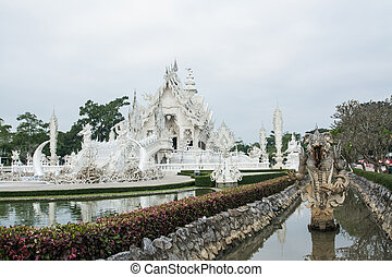 Wat Rong khun ,White Temple - Wat Rong khun is known among...