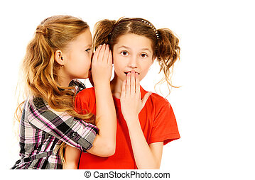 girls whispering
