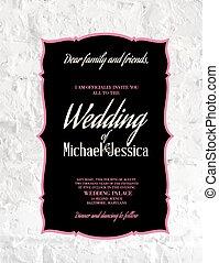 Wedding Card.
