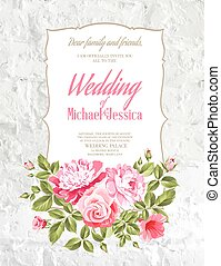 Wedding Card. - Wedding Card and engagement announcement...