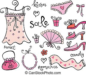 Gift Ideas for girl. - Different nice things for the girl,...