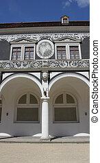Dresden Stallhof 02 - Detail of inner side of Stallhof...