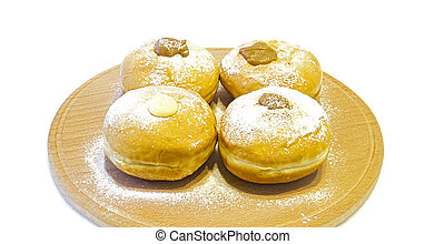 Hanukkah doughnuts - Traditional jewish holiday food