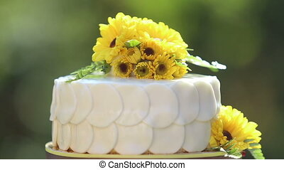 white creamy delicious cake zoom in - white creamy cake...