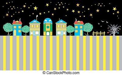 Houses Of The Funny Town - Houses of the funny town set,...