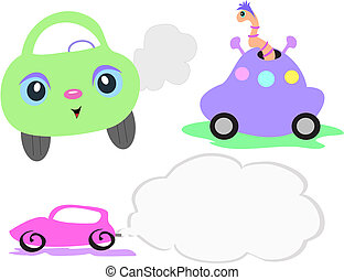 Mix of Vehicles - Here is a collection of vehicles of...