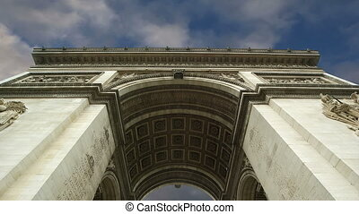 Arc de Triomphe, Paris, France, Central Europe