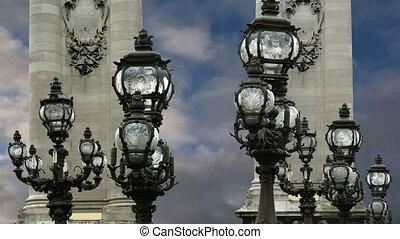 Alexander III bridge- Paris, France - The Alexander III...