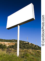 Billboard - Blank bills for outdoor advertising, clipping...