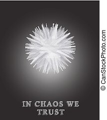 Chaos Metamorphosis absrtact objec - Abstract object in...
