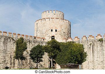 Yedikule Fortress in Fatih, Istanbul City, Turkey