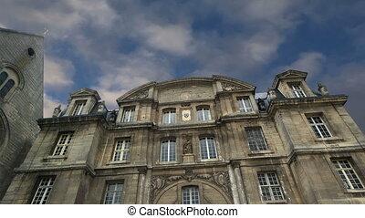 Saint Vincent Abbey, france - france, senlis, picardy,...
