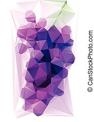 Triangulated Purple Grape