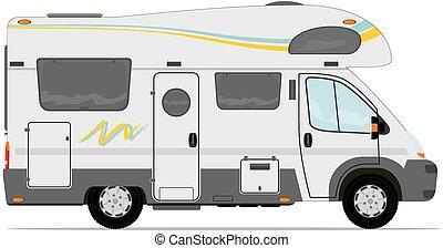 Camper - Modern camper van