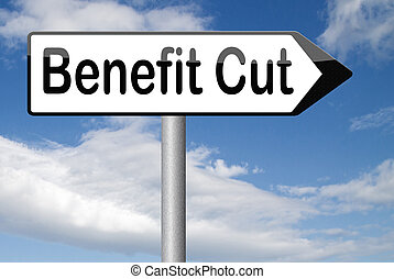 benefit cut - Benefit cuts tax cut on housing child and...