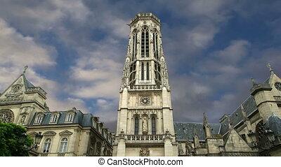 Church of Saint-Germain-lAuxerrois, Paris, France