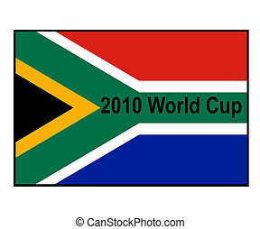South Africa 2010 World Cup flag
