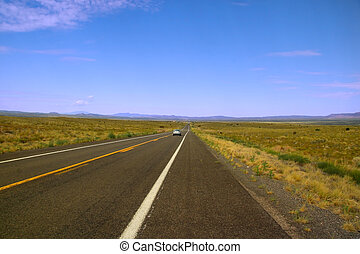 Historic route 66 - All American historic route 66 in...