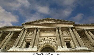Louvre Palace, Paris, France - Louvre Palace, Paris, France,...