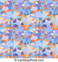 Seamless abstract floral pattern