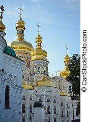 Kiev-Pechersk Lavra - Uspenski Cathedral (The Great Church)...
