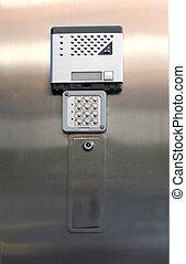 Alarm keypad and intercom
