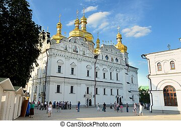 Kiev-Pechersk Lavra - Uspenski Cathedral The Great Church in...